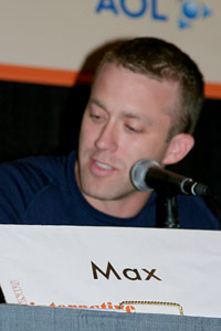 Tucker Max at SXSW From Blog to Book Panel