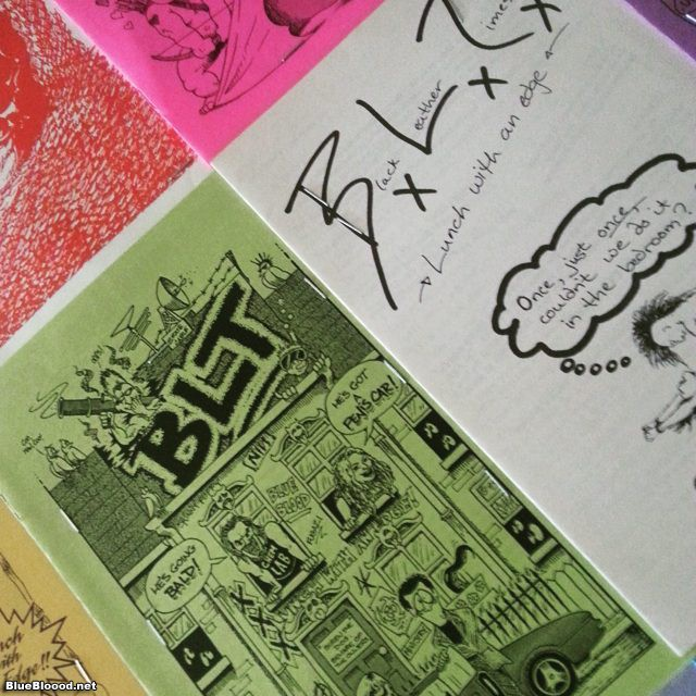 32 minutes left to search BLT on #Kickstarter #punk #zines