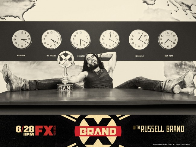 brand x russell brand spread eagle