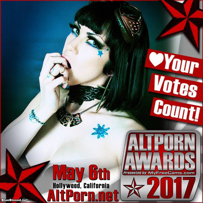 AltPorn Awards Nominee Blue Blood