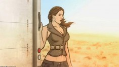 Hot Babe on Archer on FX Coyote Lovely