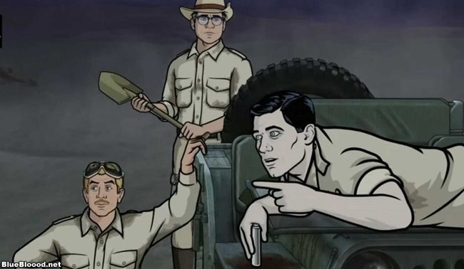 archer on fx season 4 episode 6 once bitten