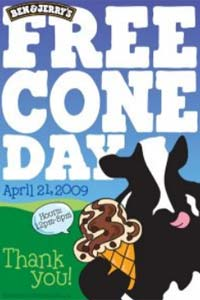 ben and jerry s free ice cream