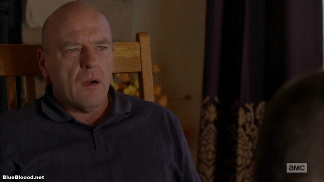 breaking bad walter white is the devil dean norris hank schrader