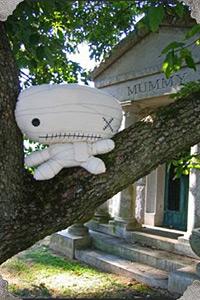 Cuddly Rigor Mortis Mummy by Kristin Tercek