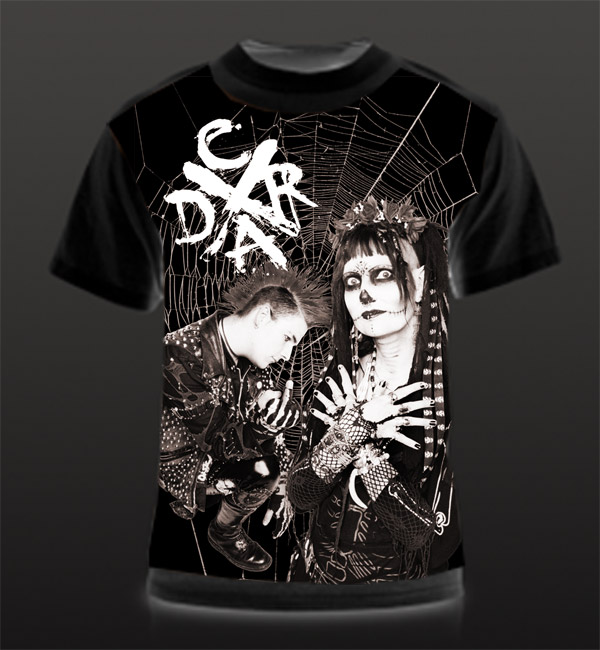 deathrock t shirt