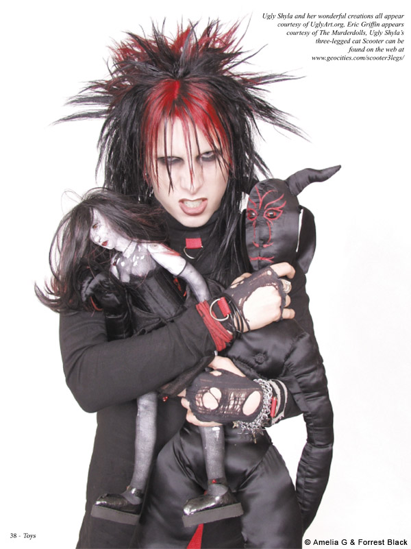 eric griffin ugly art dolls murderdolls