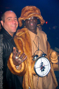 Flavor Flav and Lange in Vegas photographed by Amelia G
