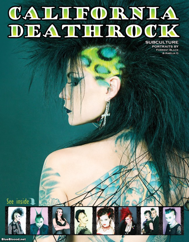 California Deathrock coffee table book see inside