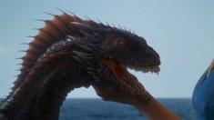 Game of Thrones Season 3 Dragon Dainerys Boob
