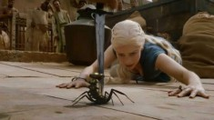 Game of Thrones Season 3 Scorpion Emilia Clarke