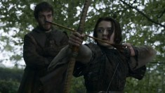Game of Thrones S3E26: The Climb arya stark