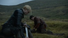 Brienne, Pod, and Oathkeeper