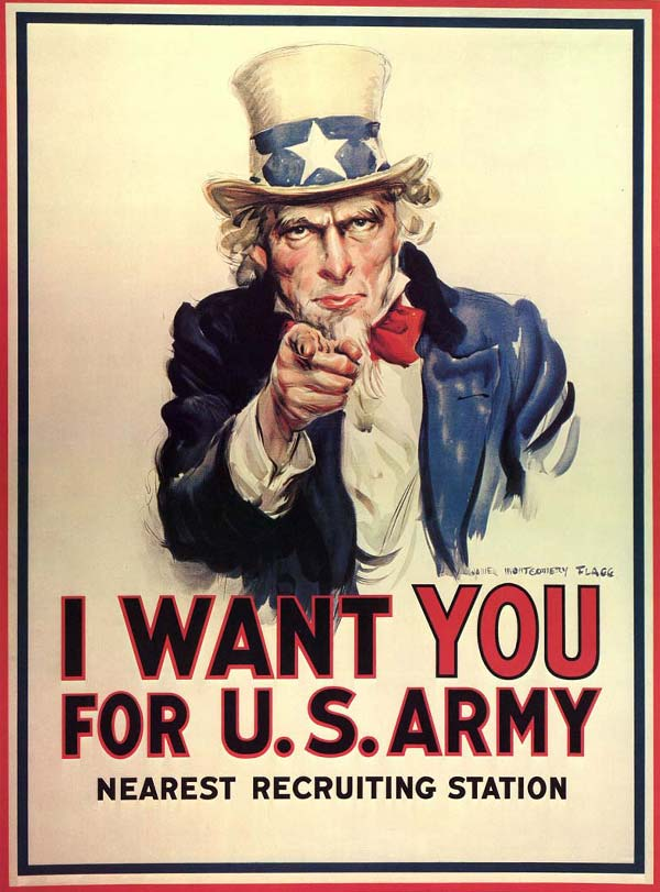 i want you for the us army uncle sam poster