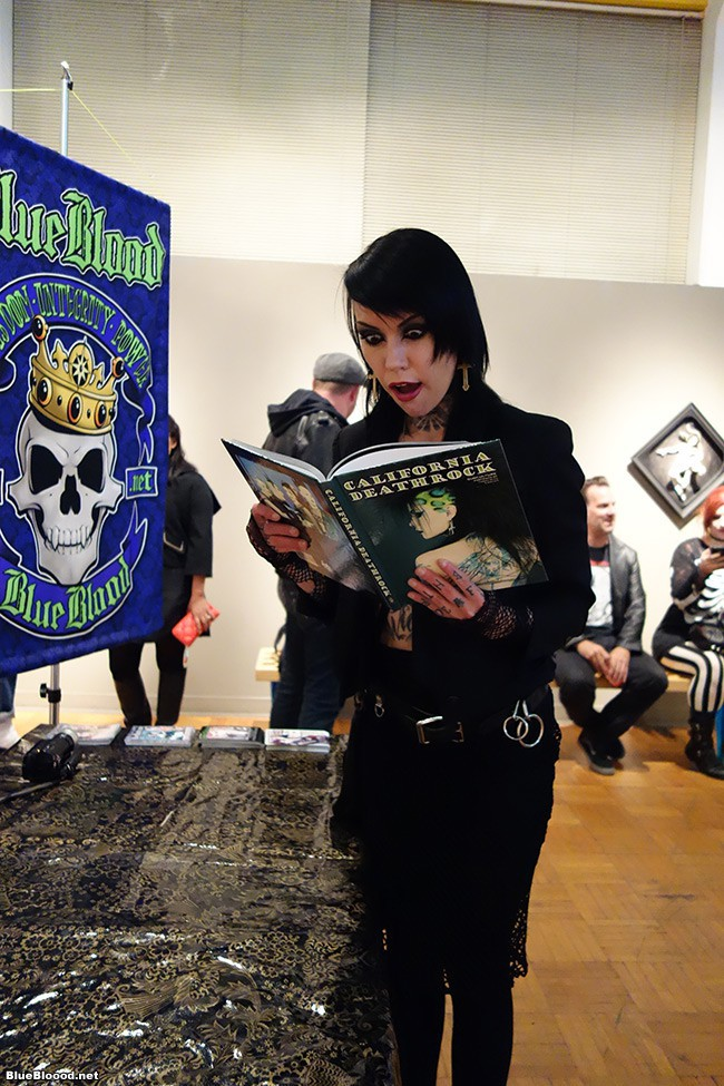 La Luz California Deathrock Party Pics