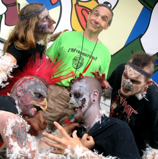 lloyd kaufman chicken zombies