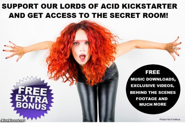 Last Day to Back Lords of Acid Kickstarter