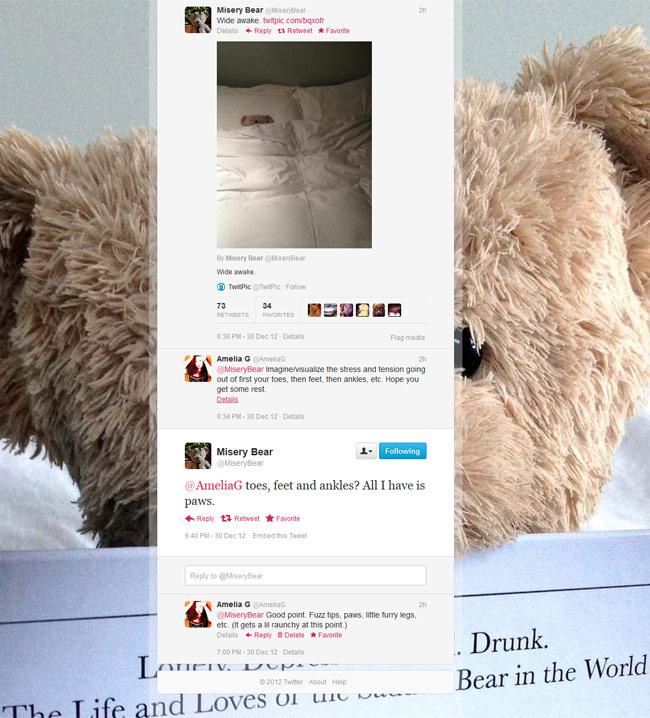misery bear twitter amelia g insomnia