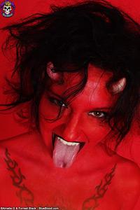 blasphemy day devil girl