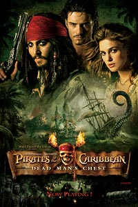 Top 10 Pirate Movies Pirates of the Caribbean Dead Mans Chest