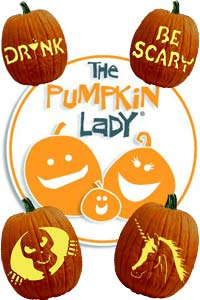 free pumpkin carving templates pumpkin lady