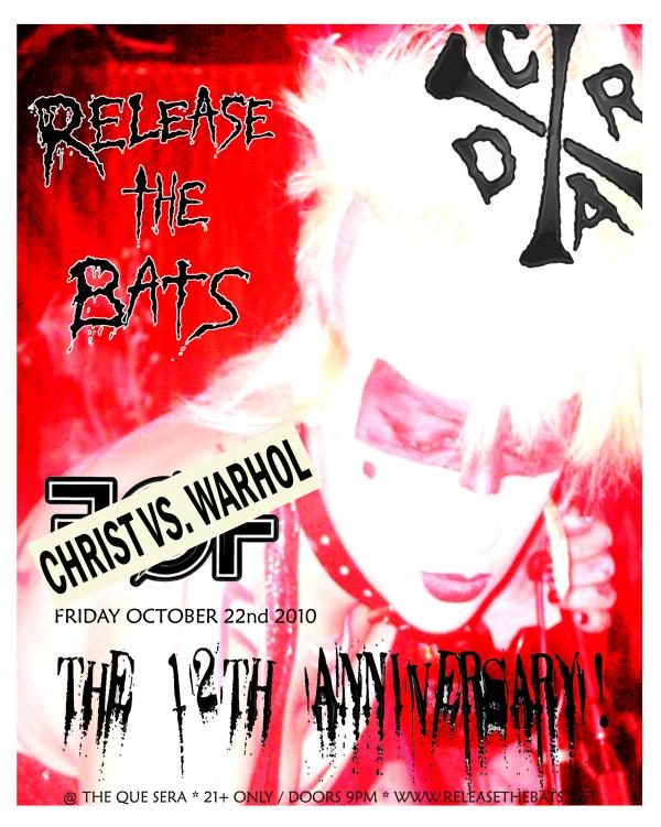release the bats christ vs warhol