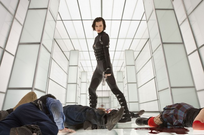 resident evil retribution 6 milla jovovich fetish gear