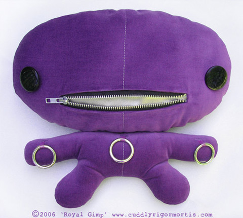 Cuddly Rigor Mortis Royal Gimp by Kristin Tercek