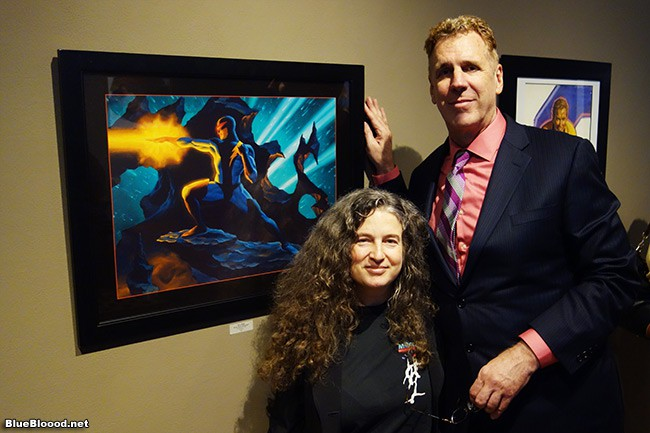 Steve Rude Art at La Luz De Jesus Gallery