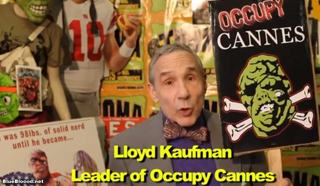 Troma Spurs Occupy Cannes Movement