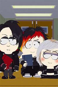 Twilight vampires South Park