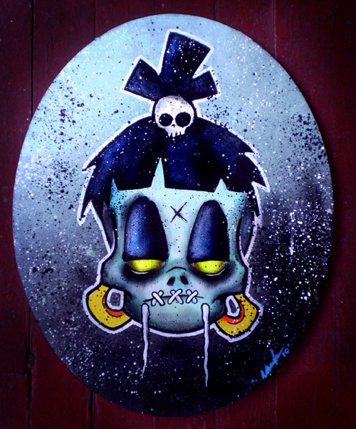 vaughn belak voodoo blue art