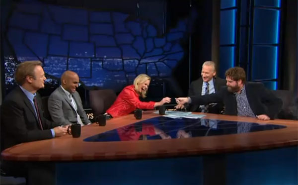 hbo zach galifianakis bill maher