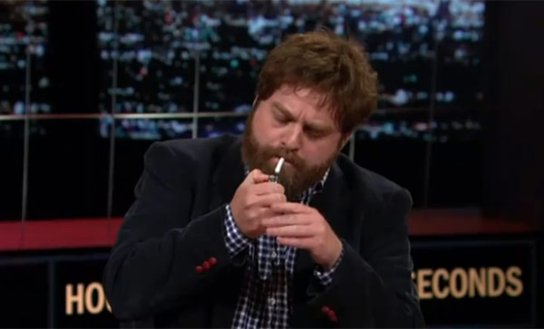 hbo zach galifianakis pot