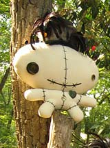 Cuddly Rigor Mortis Voodoo Dolls