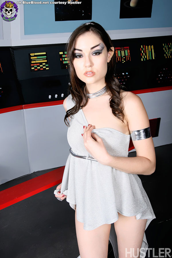 Sasha grey star trek
