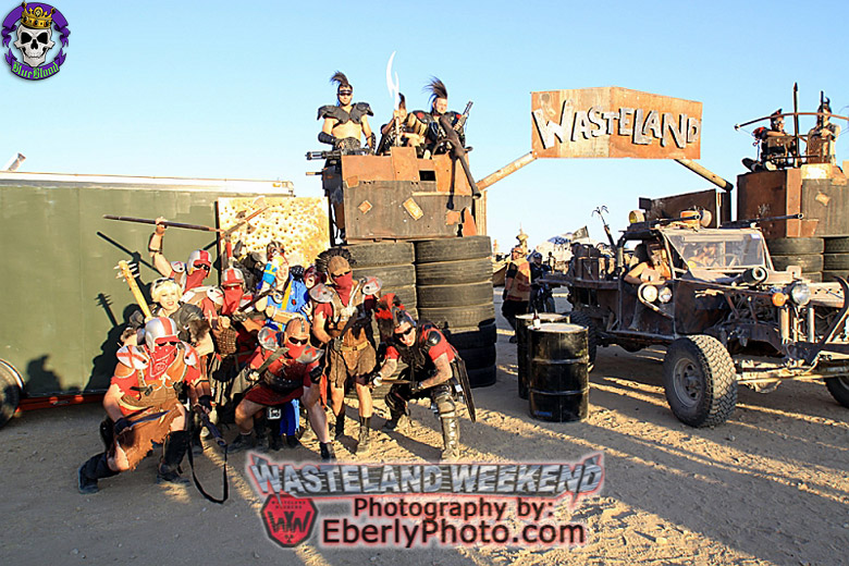 Blue Blood Wasteland Weekend
